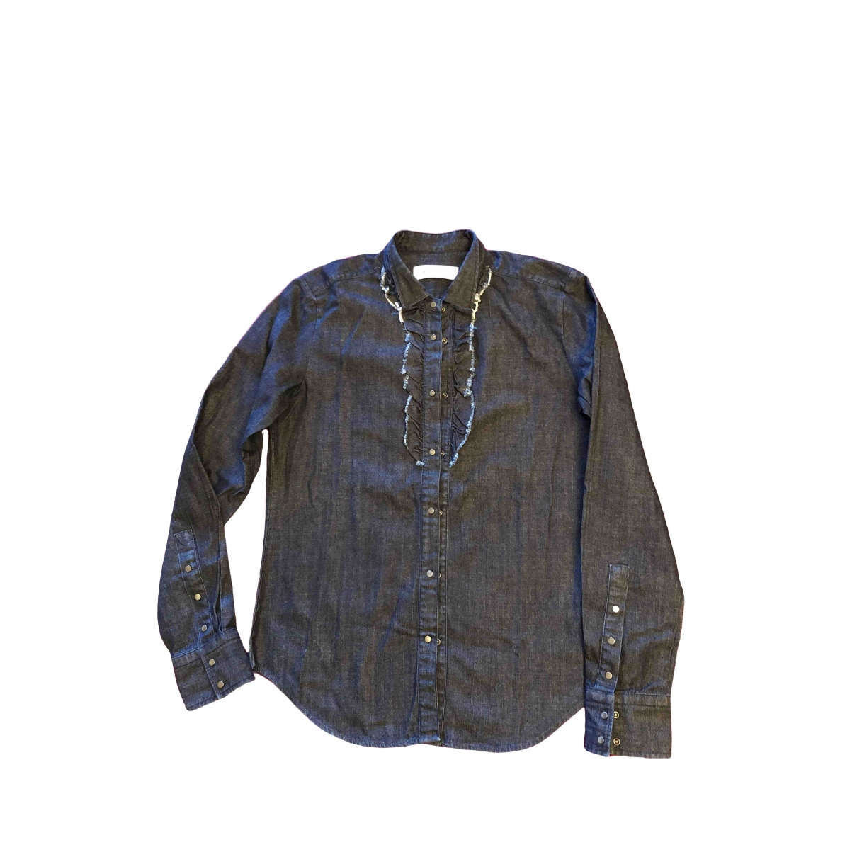 Mauro Grifoni \N Blue Cotton  top for Women 40 IT