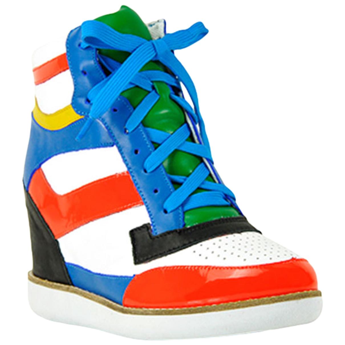 Jeffrey Campbell - Boots   pour femme en cuir - multicolore
