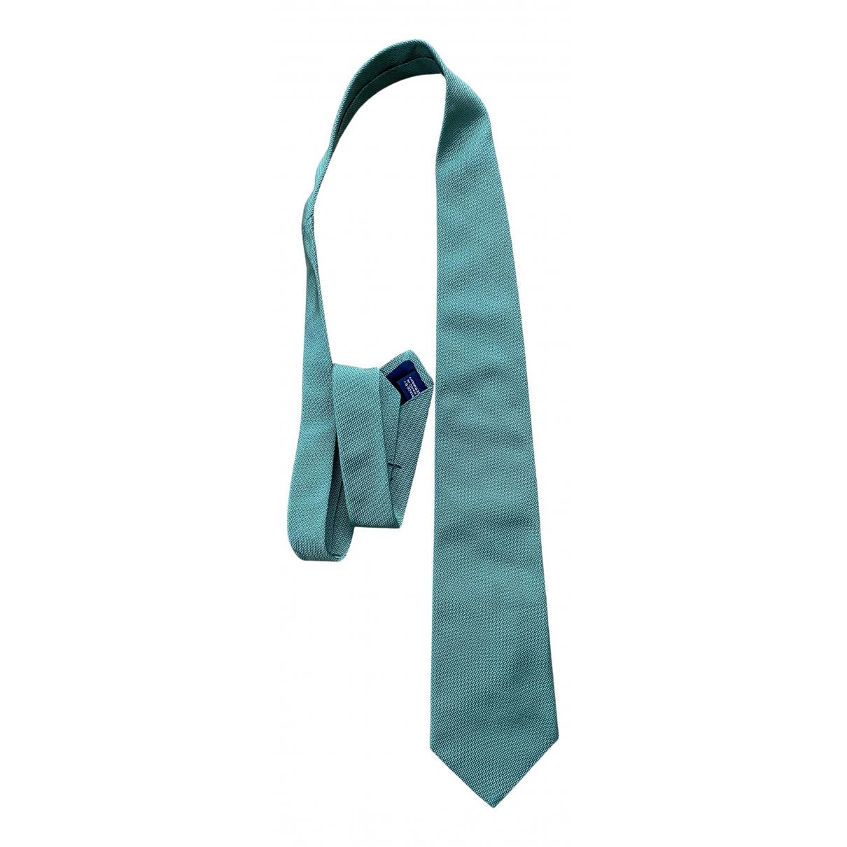 Polo Ralph Lauren - Cravates   pour homme en soie - vert