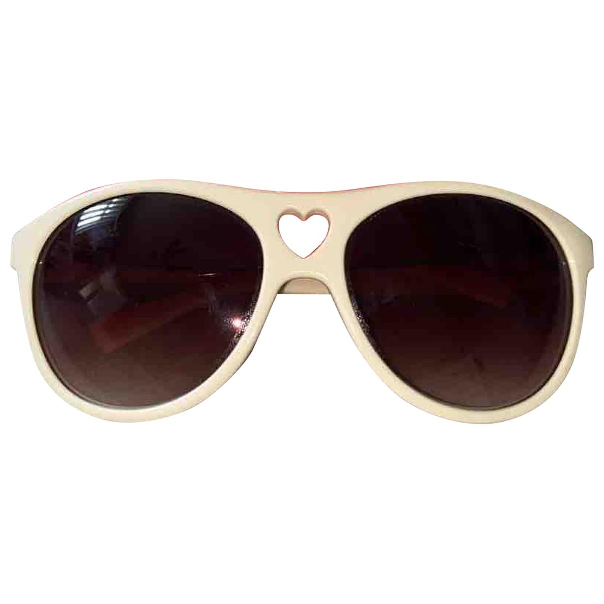 Moschino \N White Sunglasses for Women \N