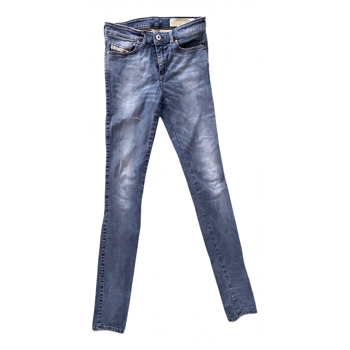 Diesel \N Blue Cotton - elasthane Jeans for Women 27 US