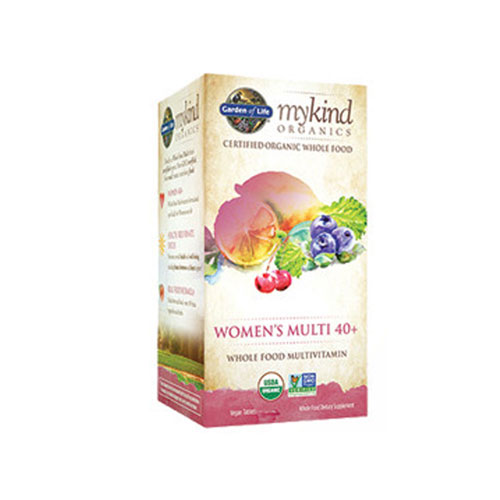 mykind Organics Womens 40 Plus Multi 60 Tabs by Garden of Life