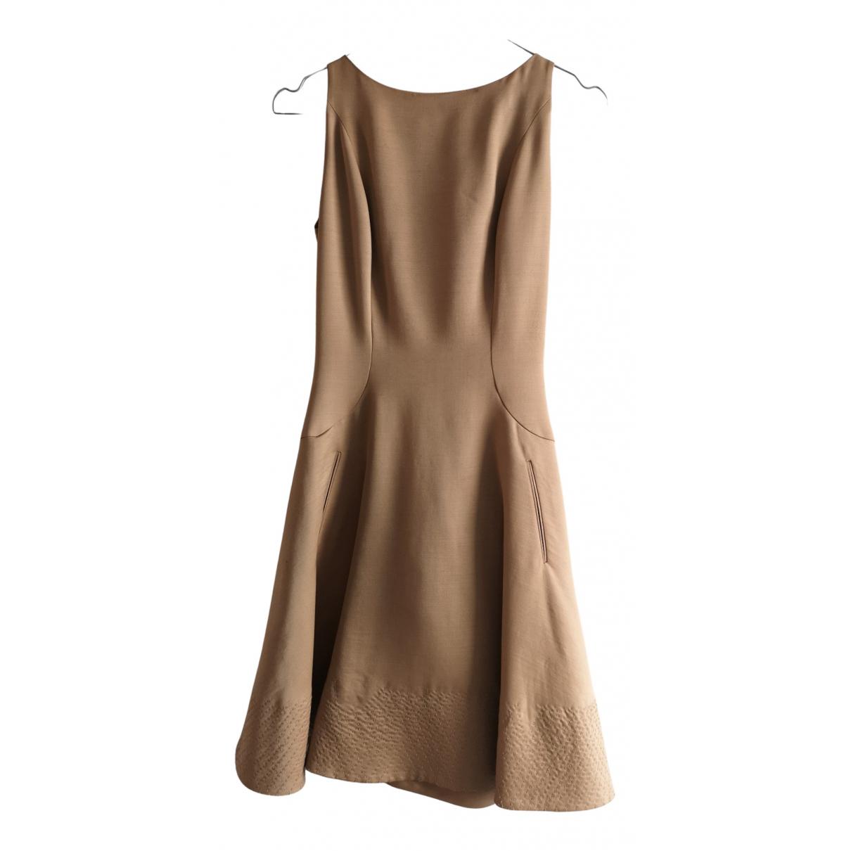Bottega Veneta N Camel Wool dress for Women 38 IT