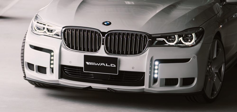 Wald USA G12.BB.FB.18 Black Bison Edition Front Bumper BMW G12 7 Series 16-18