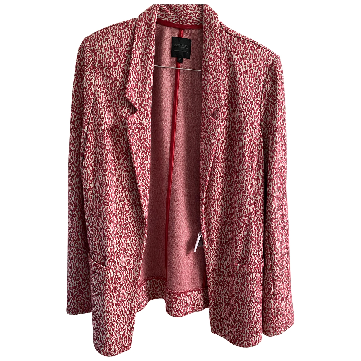 Non Signé / Unsigned \N Red Cotton jacket for Women XS International