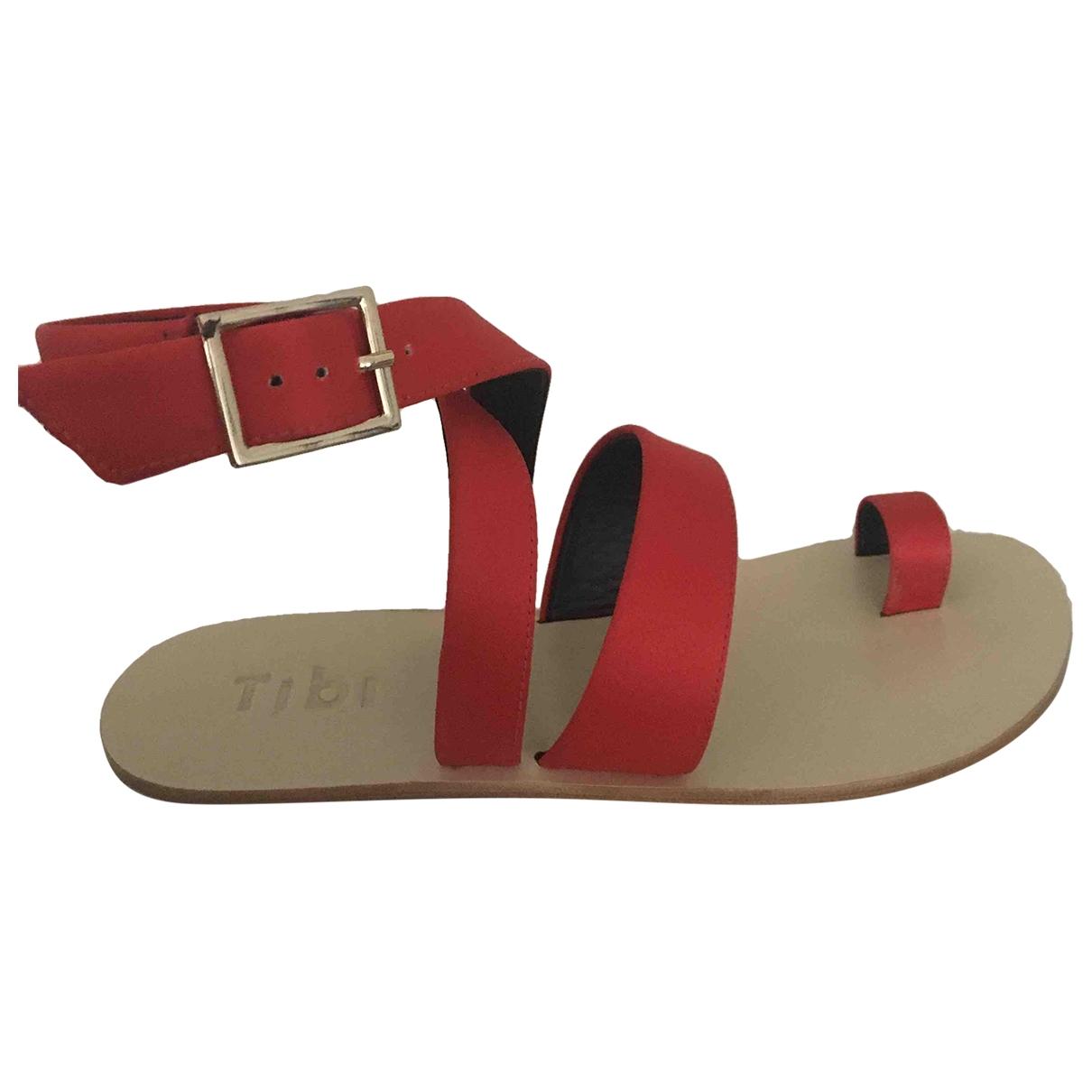 Sandalias romanas de Lona Tibi