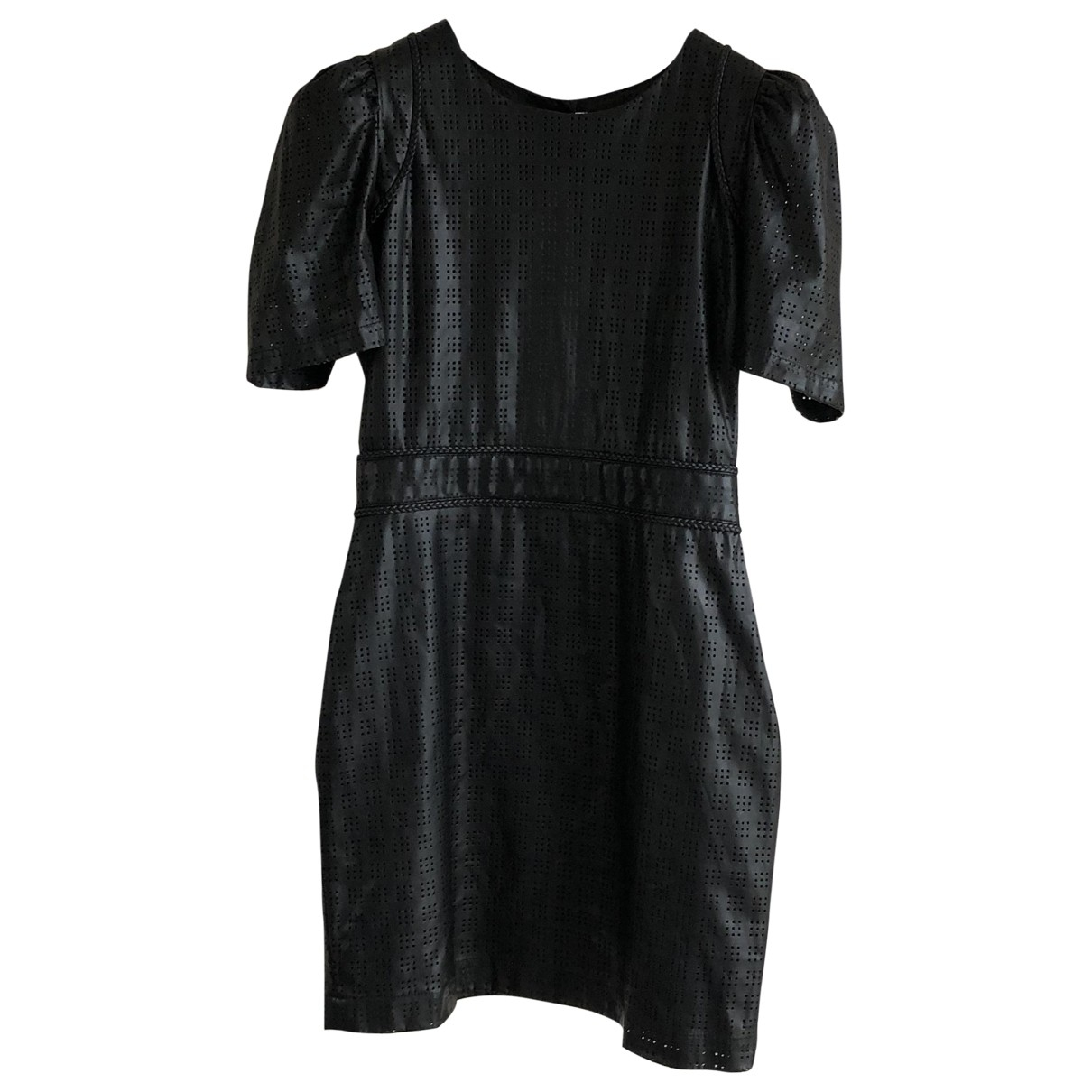 Rodebjer \N Kleid in  Schwarz Synthetik