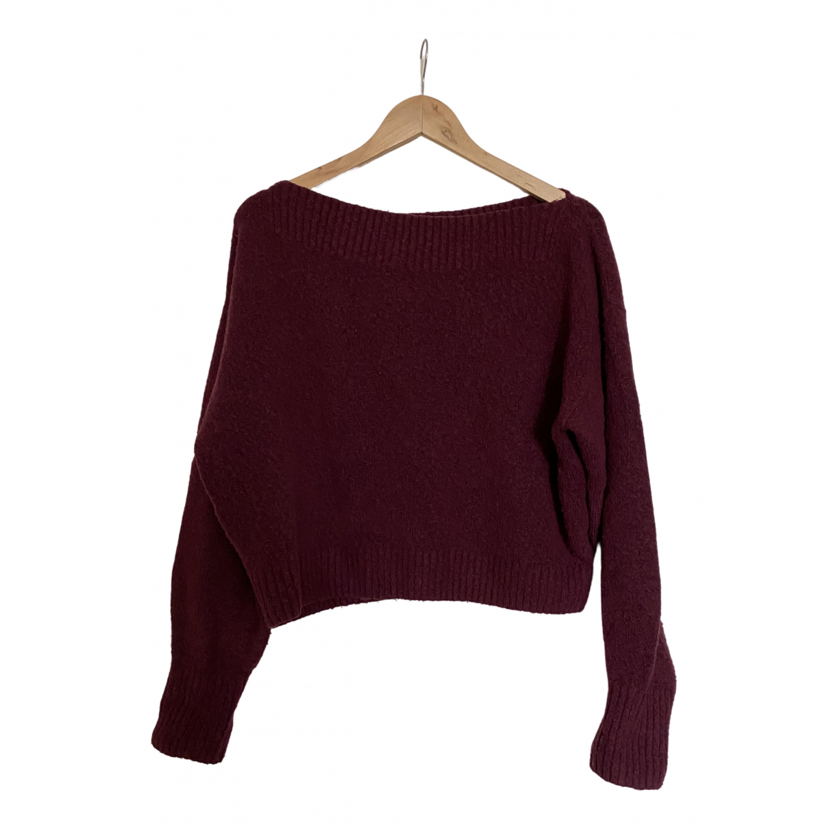 & Other Stories \N Pullover in  Bordeauxrot Synthetik