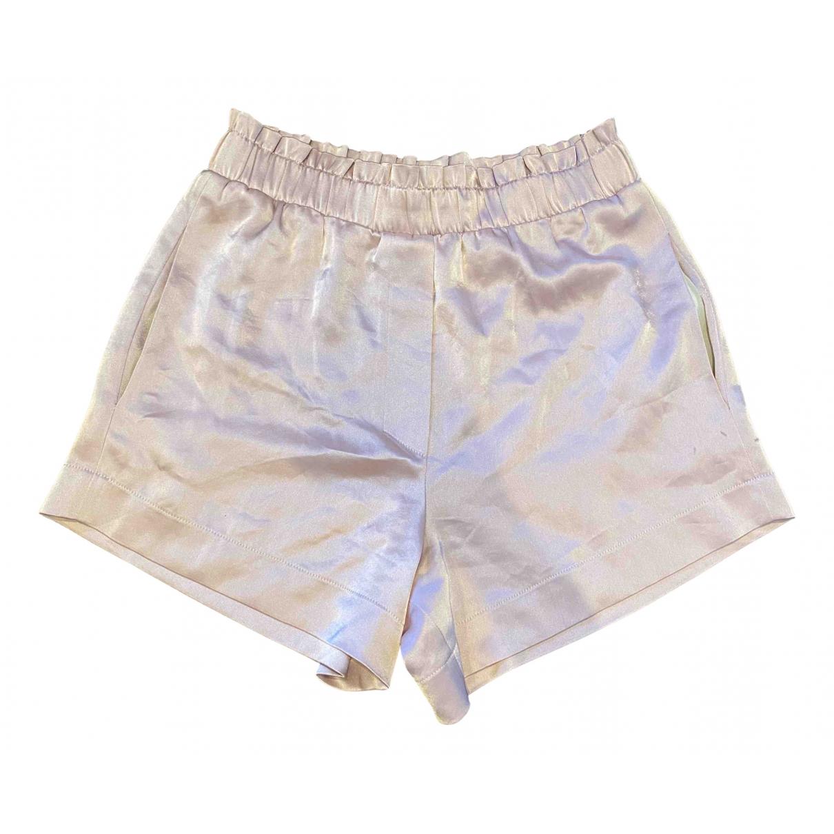 Nanushka \N Shorts in  Lila Polyester