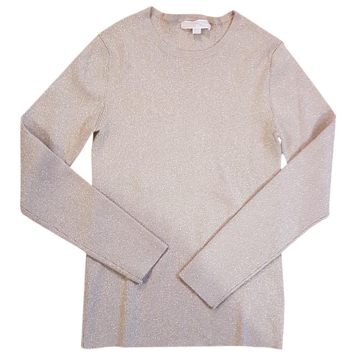 Michael Kors \N Pullover in  Metallic Viskose