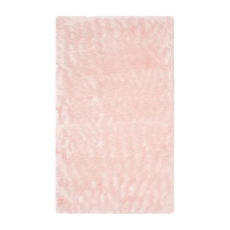 Safavieh Clarisse Solid Rectangular Rugs, One Size , Pink