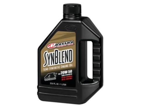 Maxima 35901B Synblend 4 Oil 20W50 1 Liter