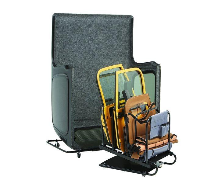 Bestop 42806-01 Black HOSS Storage Hardtop Cart Jeep Wrangler 2007-2018