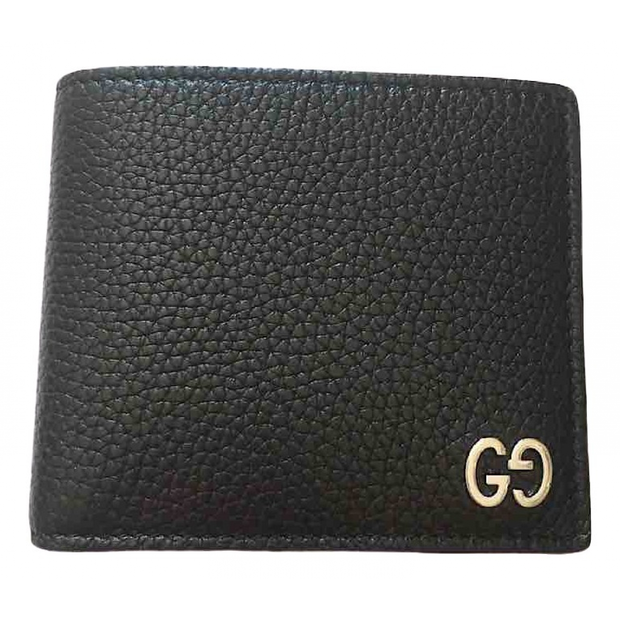 Gucci - Petite maroquinerie   pour homme en cuir - noir