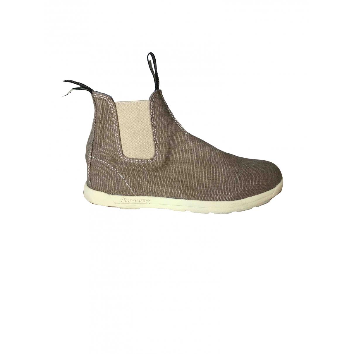 Blundstone - Boots   pour femme en toile - kaki