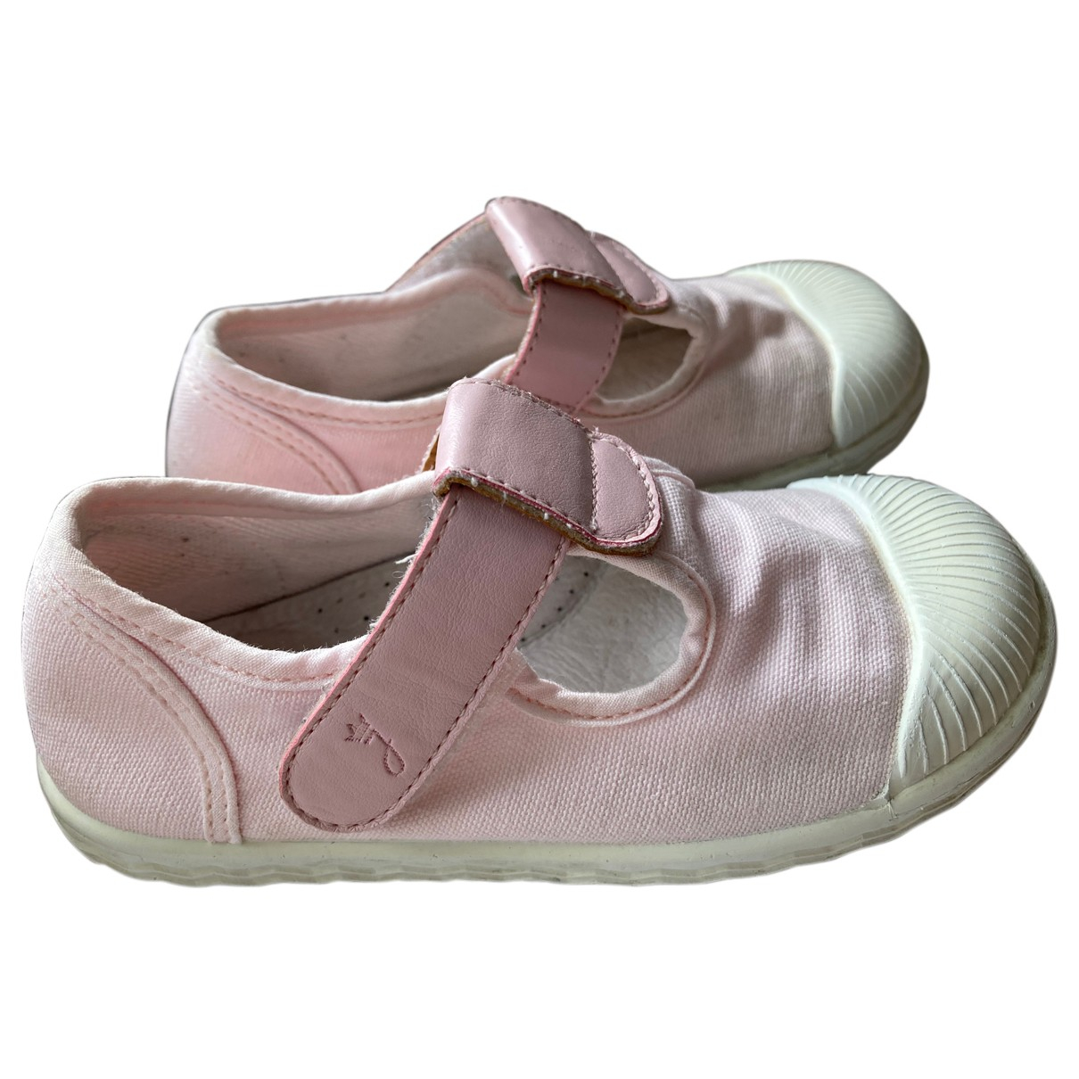 Jacadi N Pink Cloth Trainers for Kids 25 FR