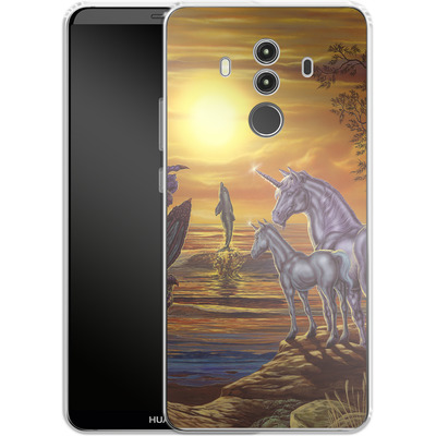 Huawei Mate 10 Pro Silikon Handyhuelle - Ed Beard Jr - Mystical Occurance von TATE and CO