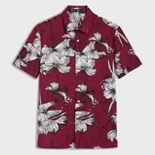 Men Floral Print Shirt