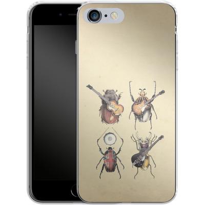 Apple iPhone 6 Plus Silikon Handyhuelle - Meet The Beetles von Eric Fan