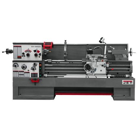 Jet Gear Head 16 x 60 ZX Lathe with Taper Attachment and Collet Closer Installed