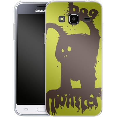Samsung Galaxy J3 (2016) Silikon Handyhuelle - Boo Monster von caseable Designs