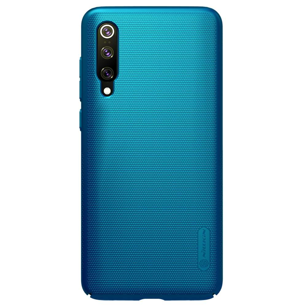 NILLKIN Protective Frosted PC Phone Case For Xiaomi Mi 9 Pro Smartphone - Blue