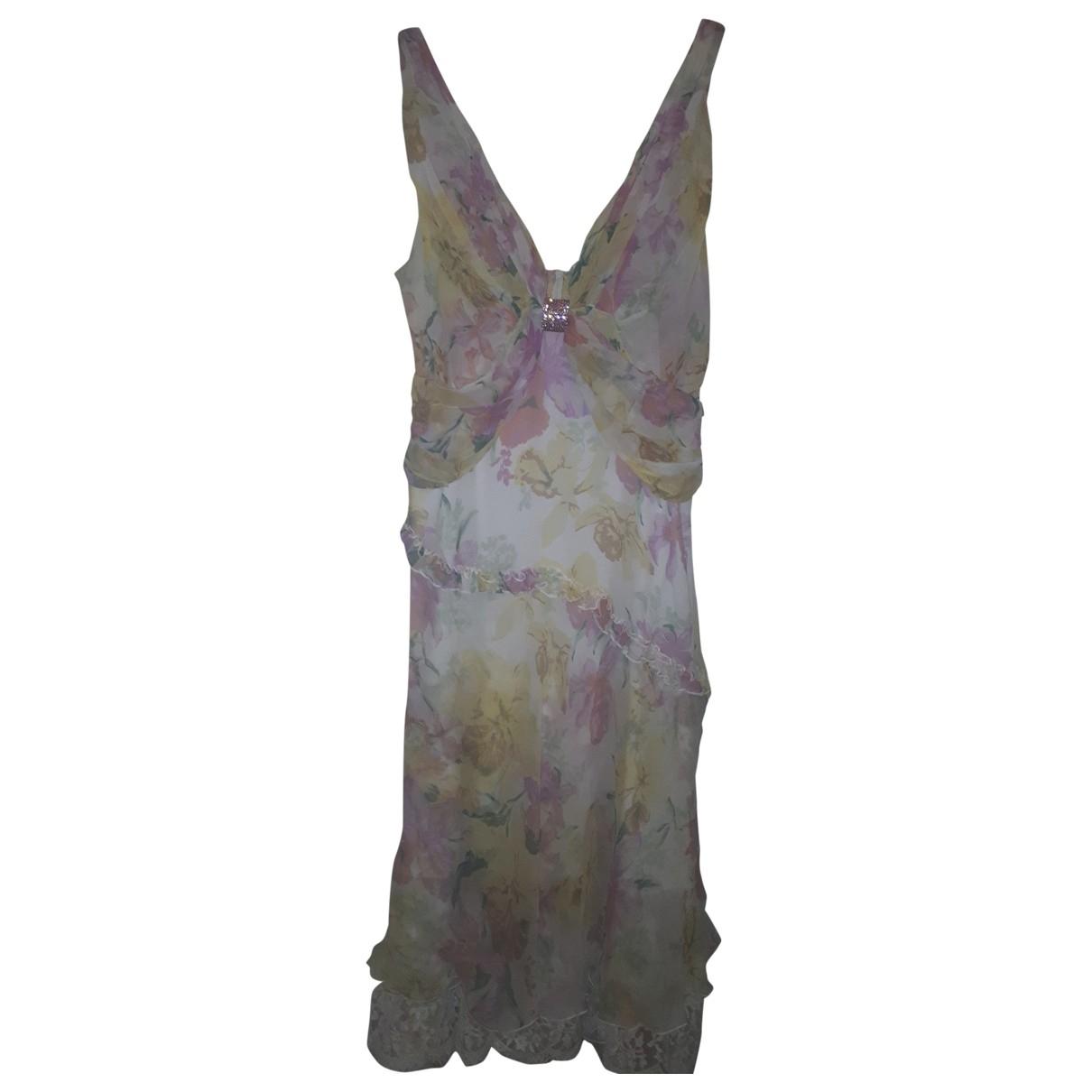 Amorimiei Paolo Petrone \N Silk dress for Women 42 IT