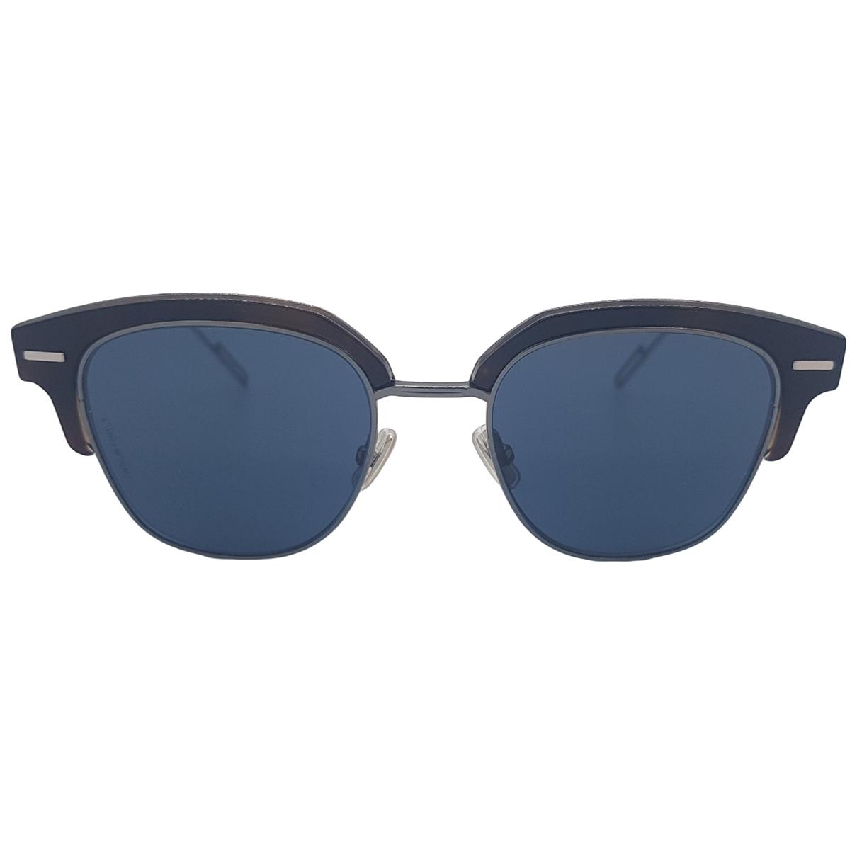Dior Homme \N Black Metal Sunglasses for Men \N