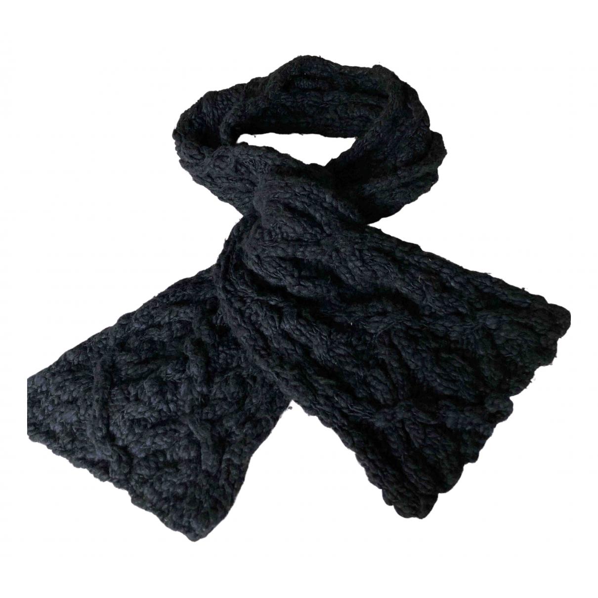 Mulberry - Foulard   pour femme en laine - marine