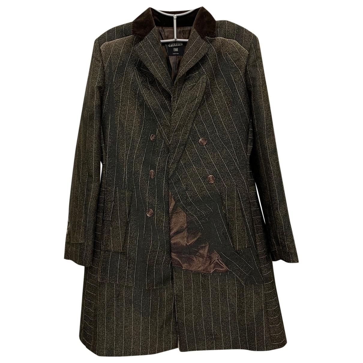 Jean Paul Gaultier - Manteau   pour femme - multicolore