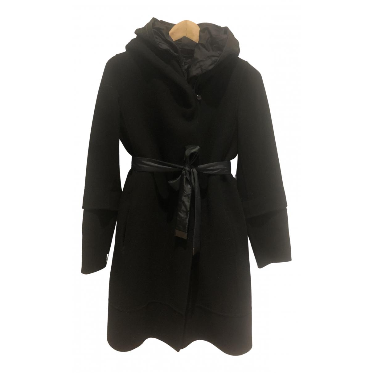 Max Mara s - Manteau   pour femme en laine - noir