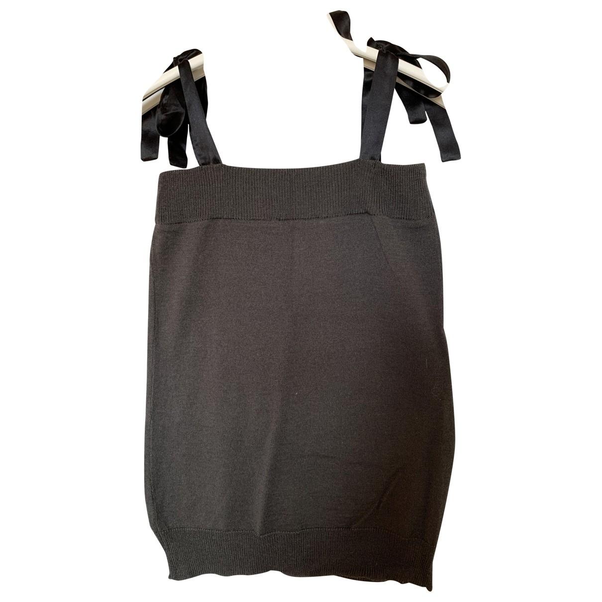 Comptoir Des Cotonniers - Top   pour femme en laine - marron