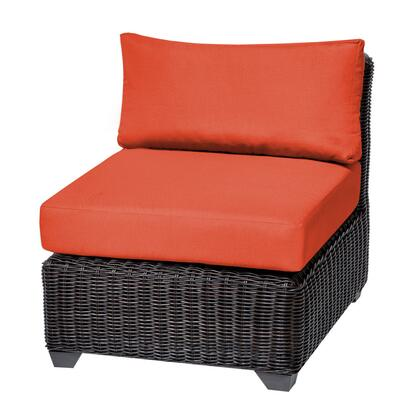 TKC050b-AS-DB-TANGERINE Venice Armless Sofa 2 Per Box with 2 Covers: Wheat and