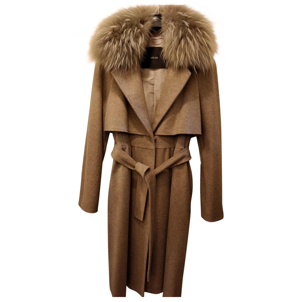 Max Mara Max Mara Atelier Beige Cashmere coat for Women 40 FR