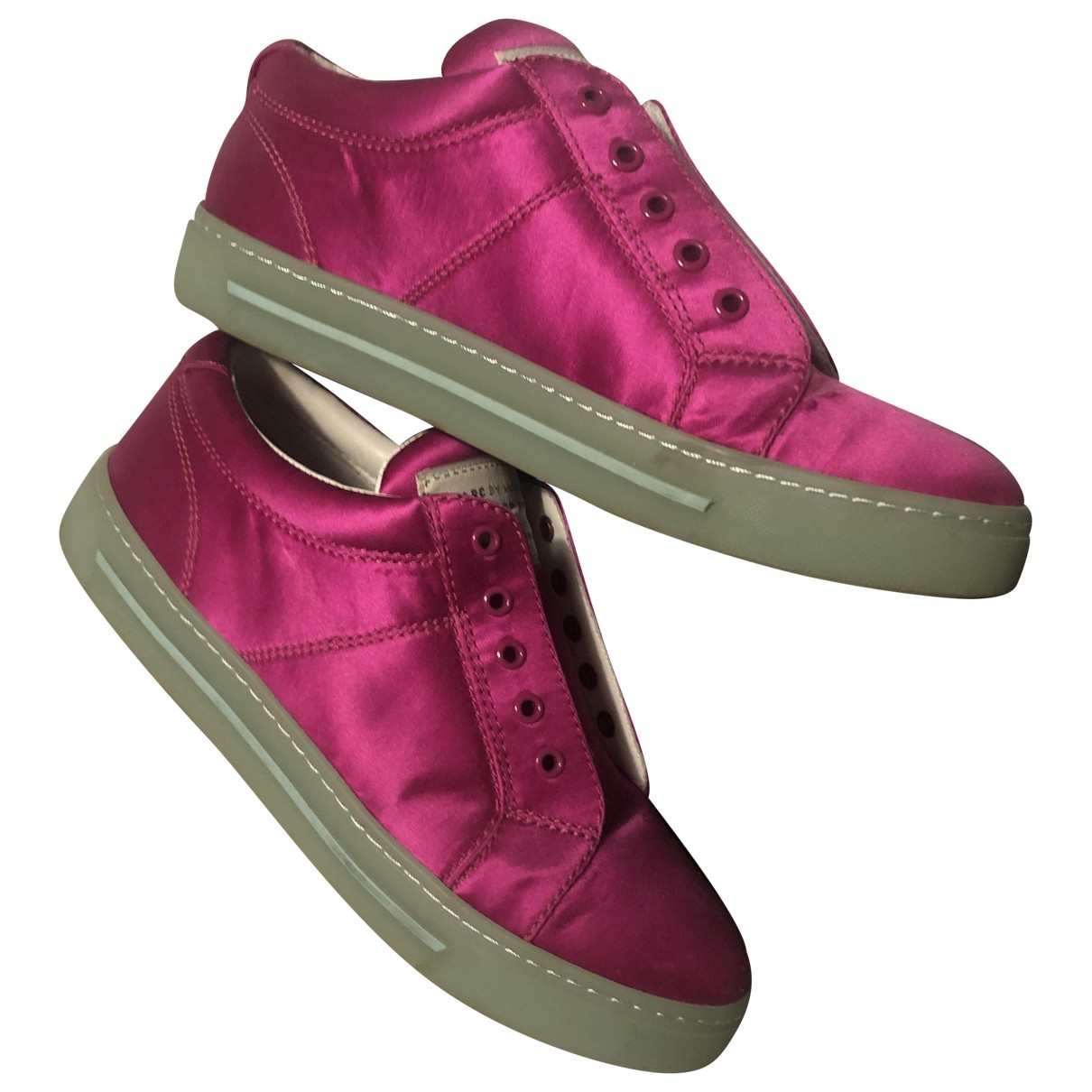Marc By Marc Jacobs \N Pink Cloth Trainers for Women 39 EU