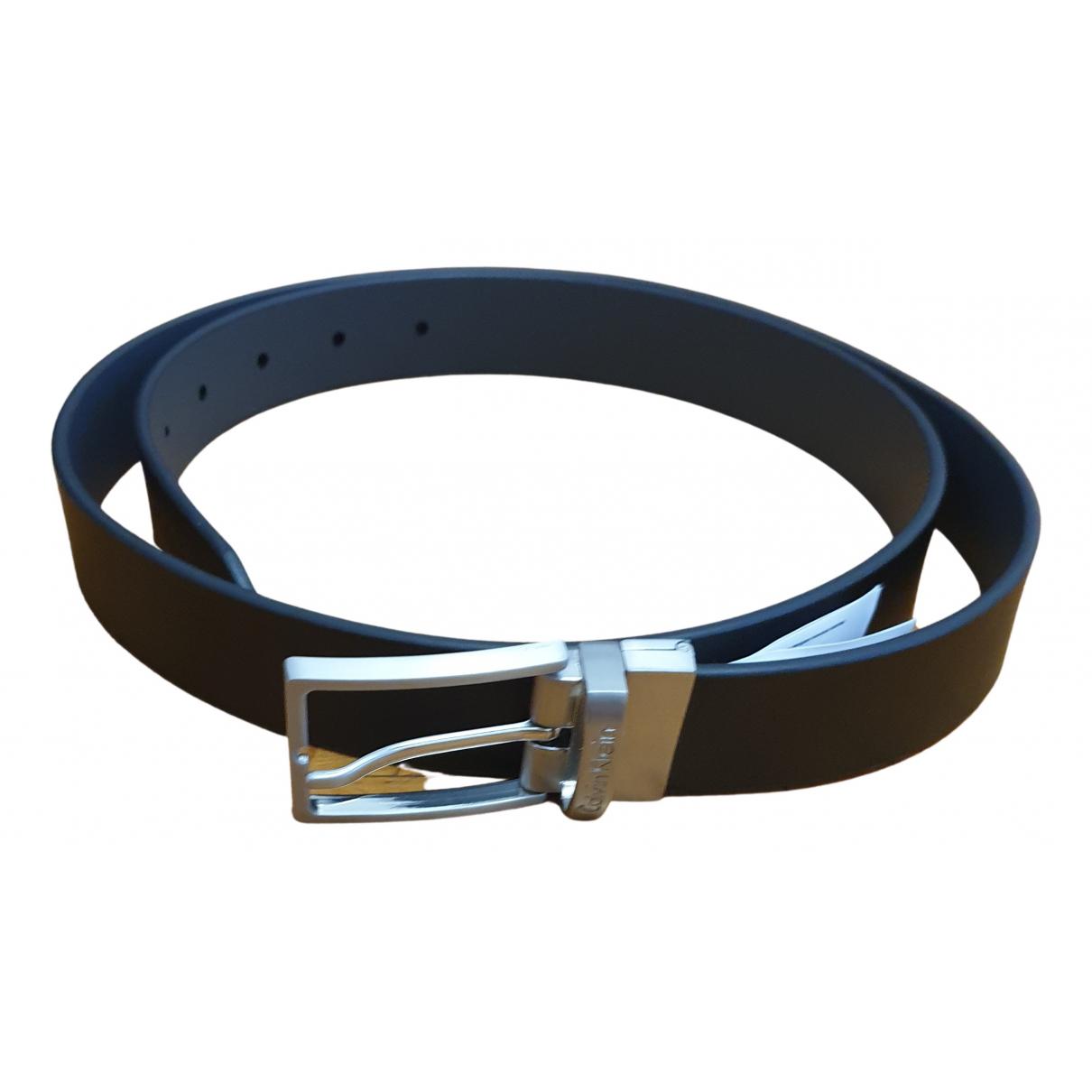 Cinturon de Cuero Calvin Klein