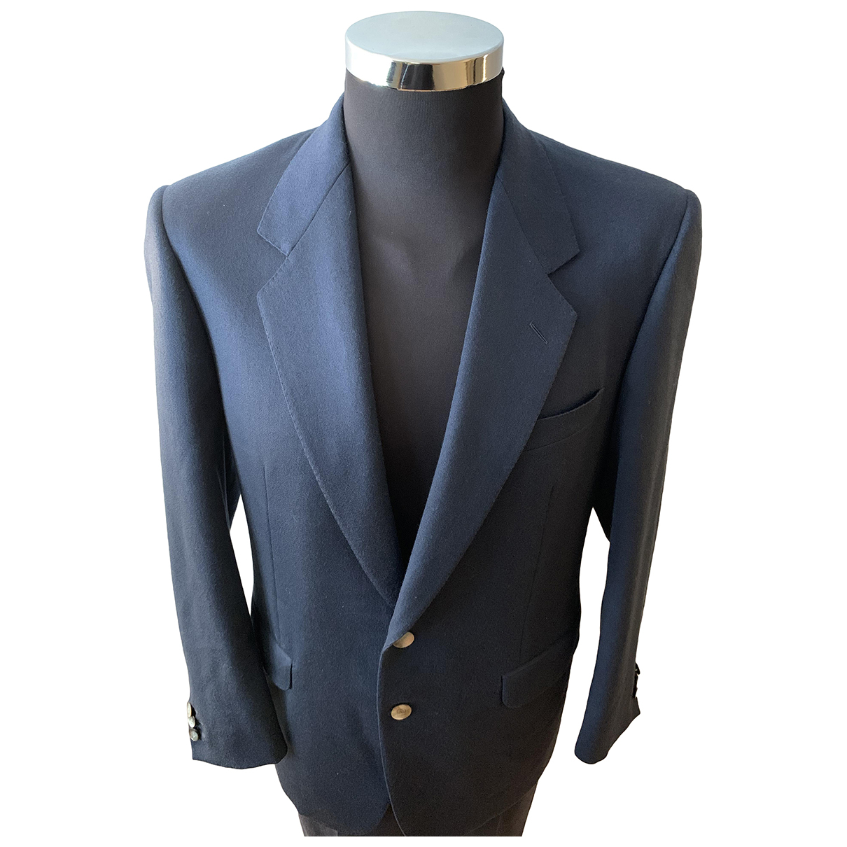 Pierre Cardin - Vestes.Blousons   pour homme en laine - bleu