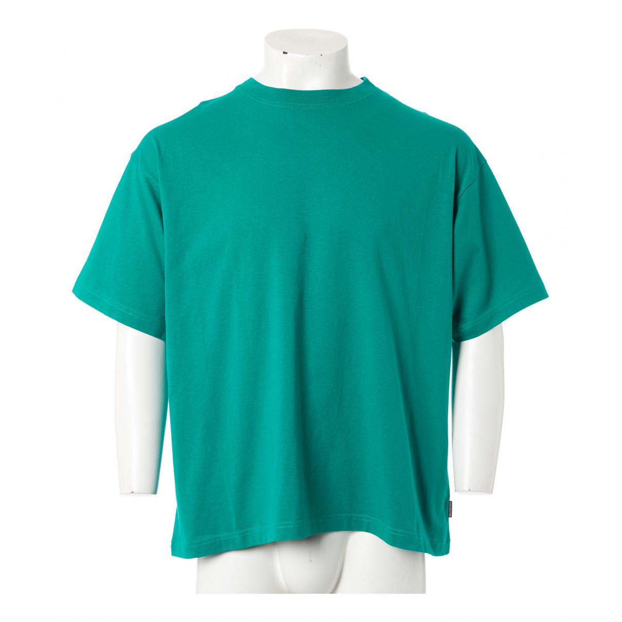 Balenciaga - Tee shirts   pour homme en coton - vert