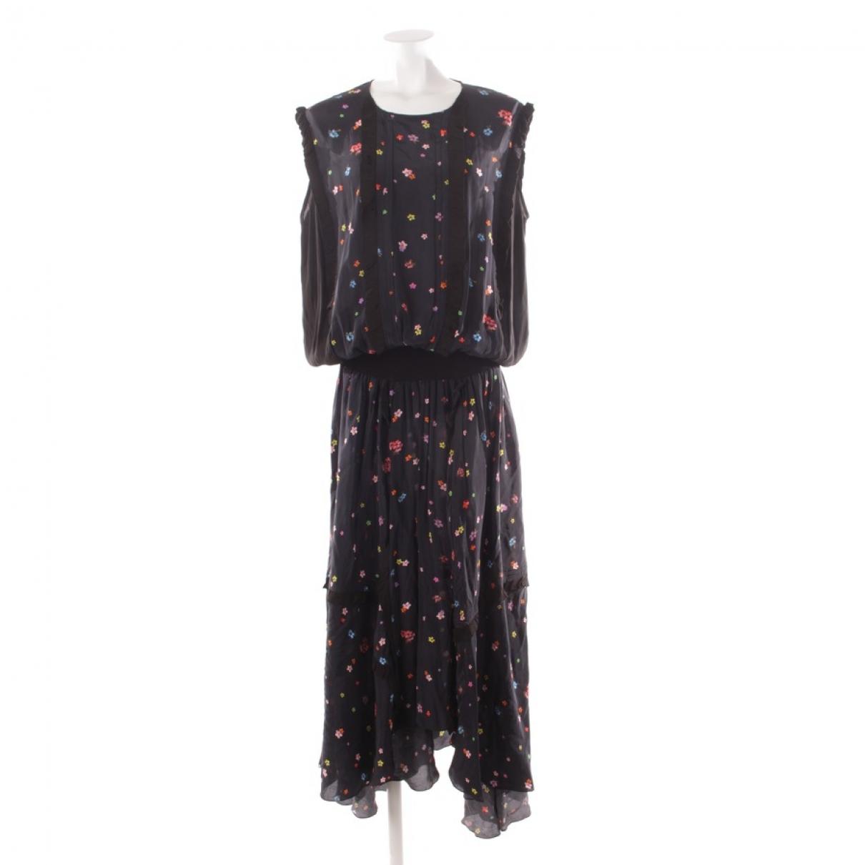 Preen By Thornton Bregazzi \N Kleid in  Blau Synthetik