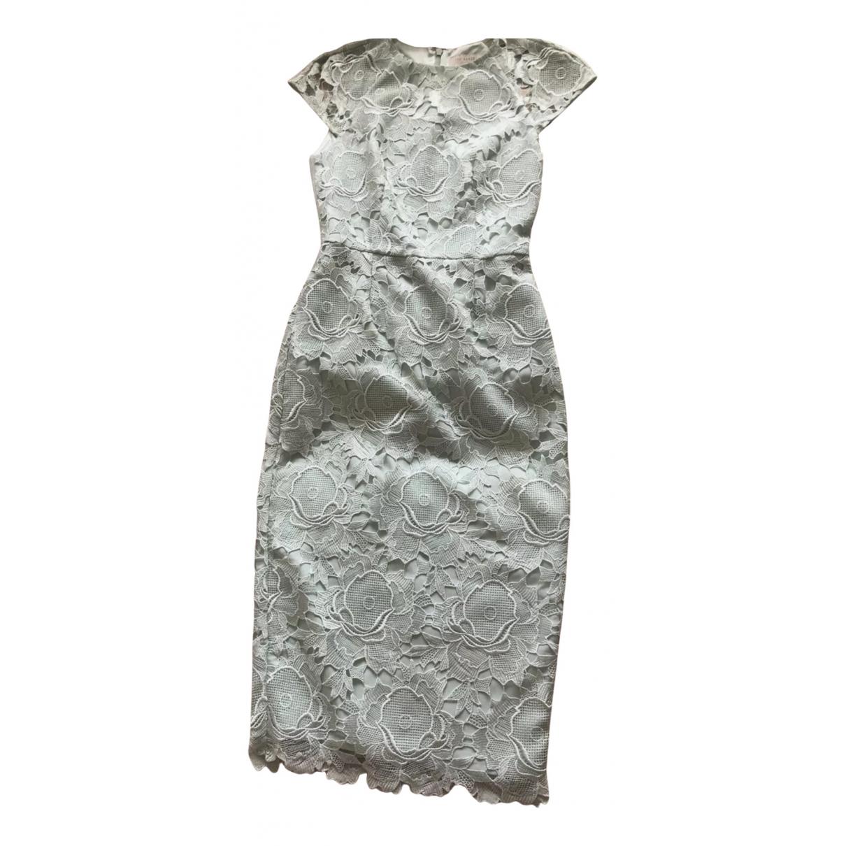 Ted Baker \N Kleid in  Gruen Spitze