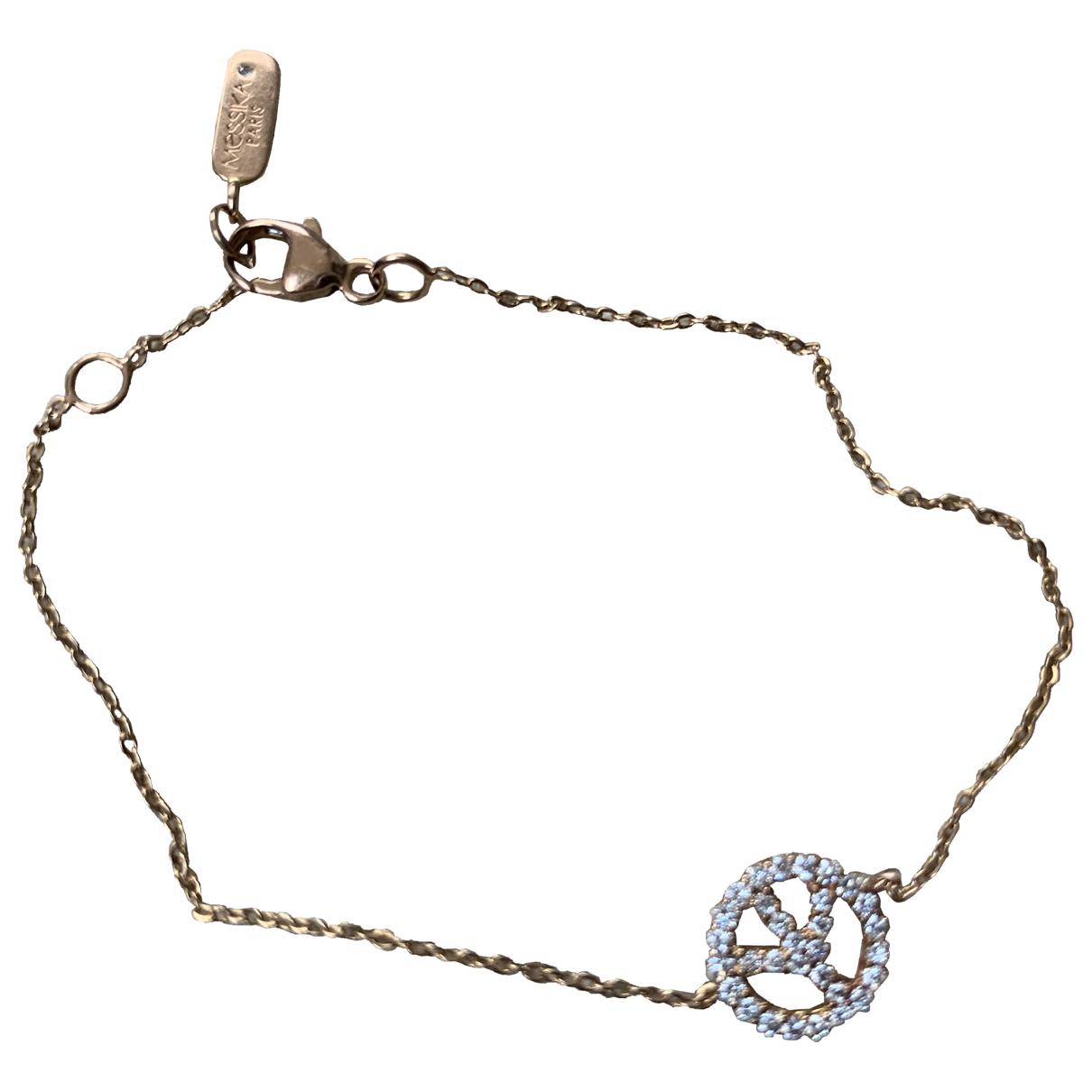 Messika \N Gold Pink gold bracelet for Women \N