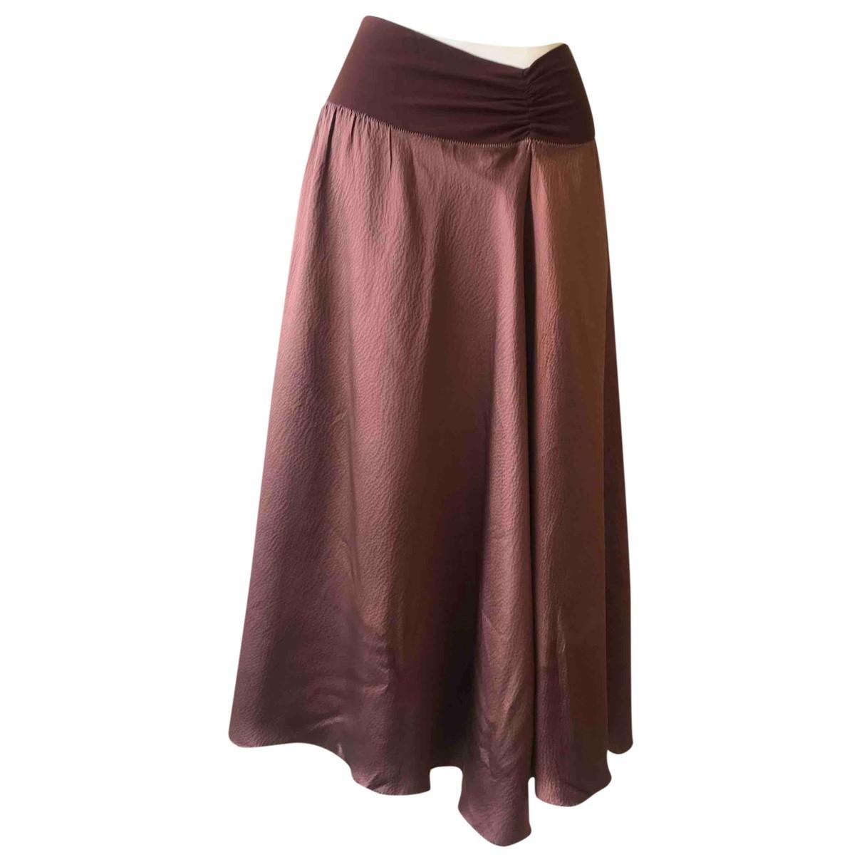 Rozae Nichols \N Brown Silk skirt for Women M International