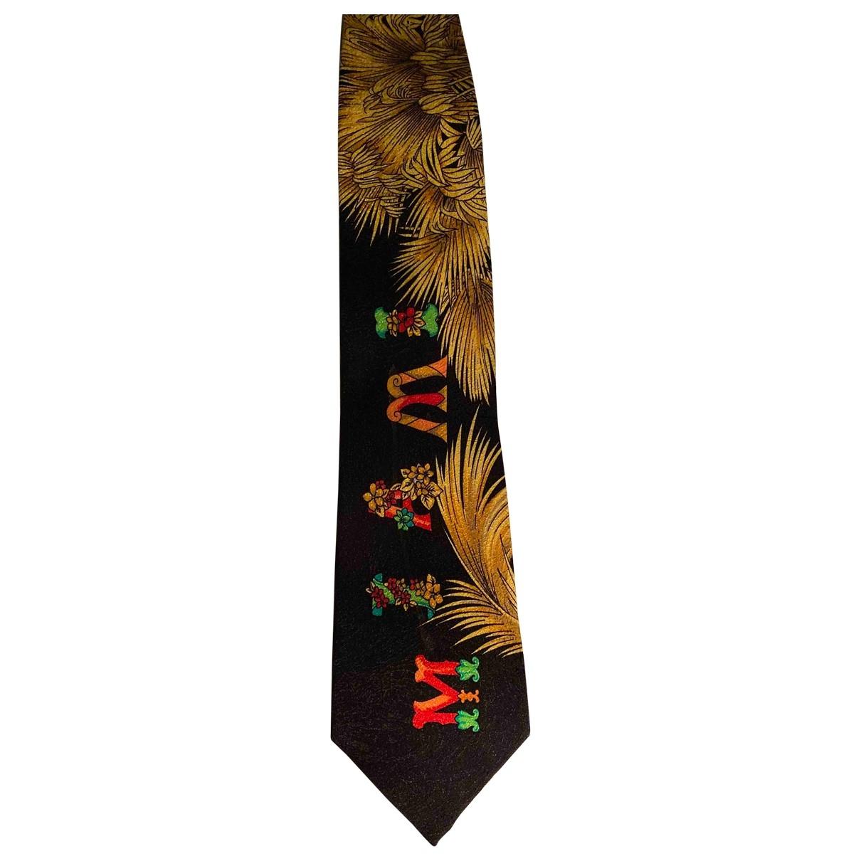 Gianni Versace - Cravates   pour homme en coton - multicolore