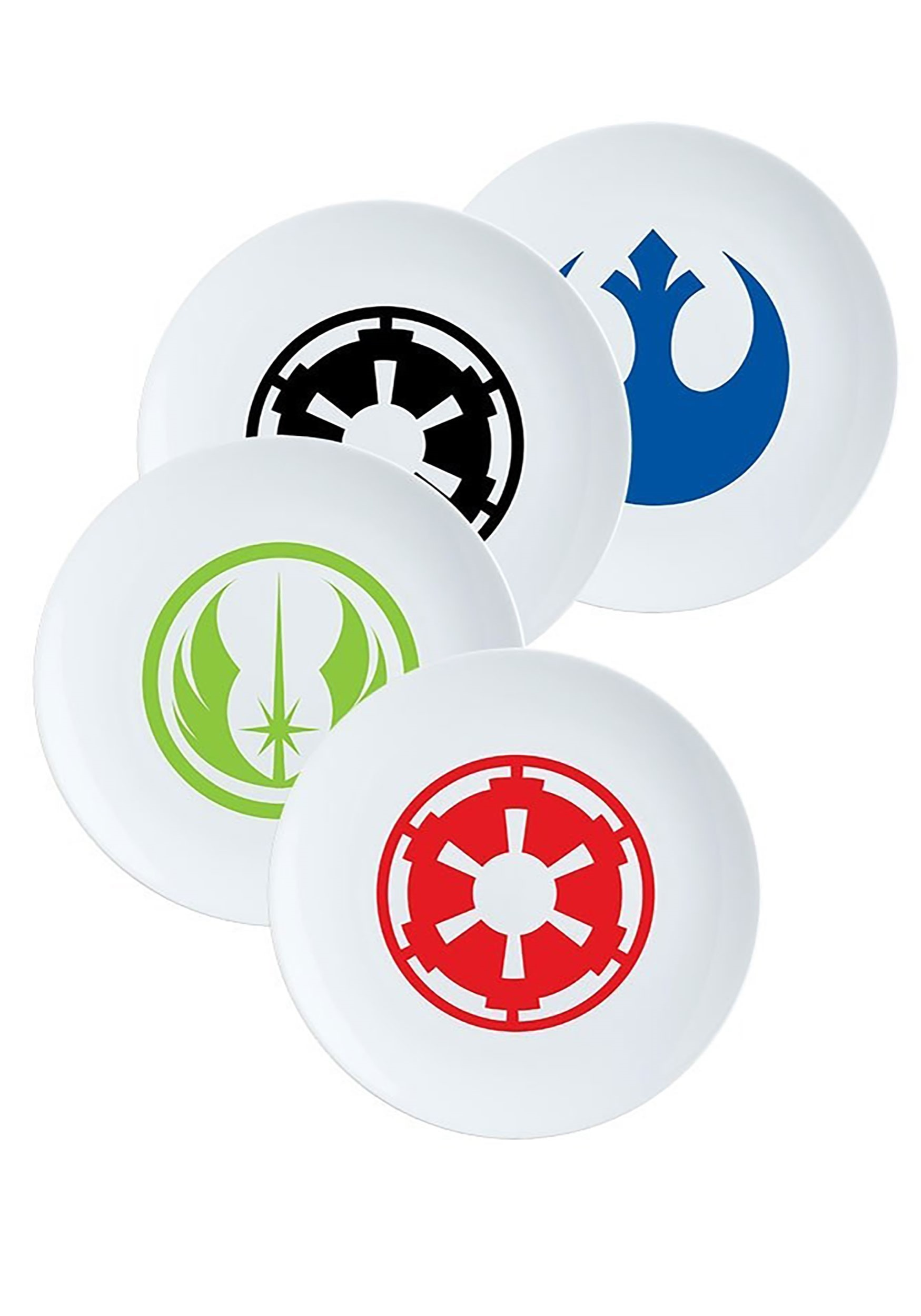 4pc Star Wars Ceramic Plate Set