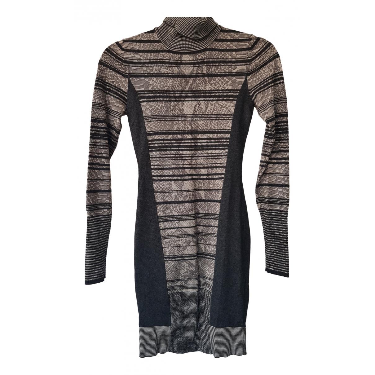 Karen Millen \N Kleid in  Grau Viskose