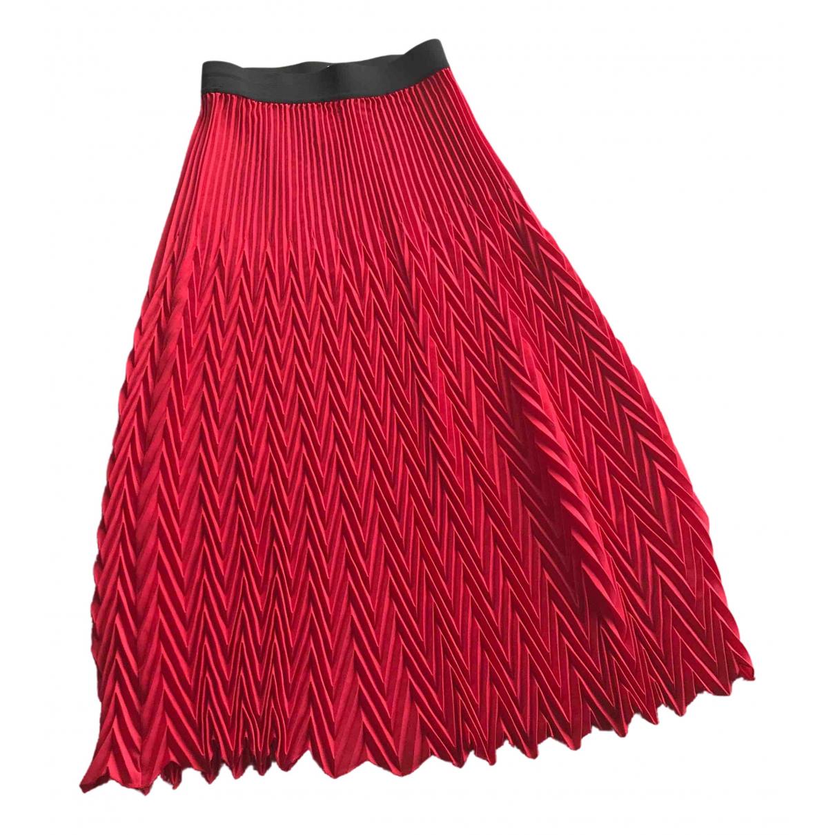 Maje N Red skirt for Women 1 0-5