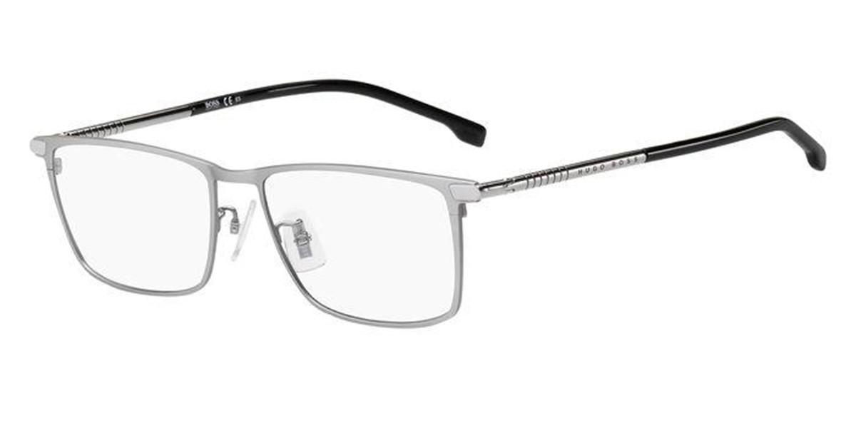 Boss by Hugo Boss Boss 1226/F Asian Fit R81 Men's Glasses Grey Size 56 - Free Lenses - HSA/FSA Insurance - Blue Light Block Available