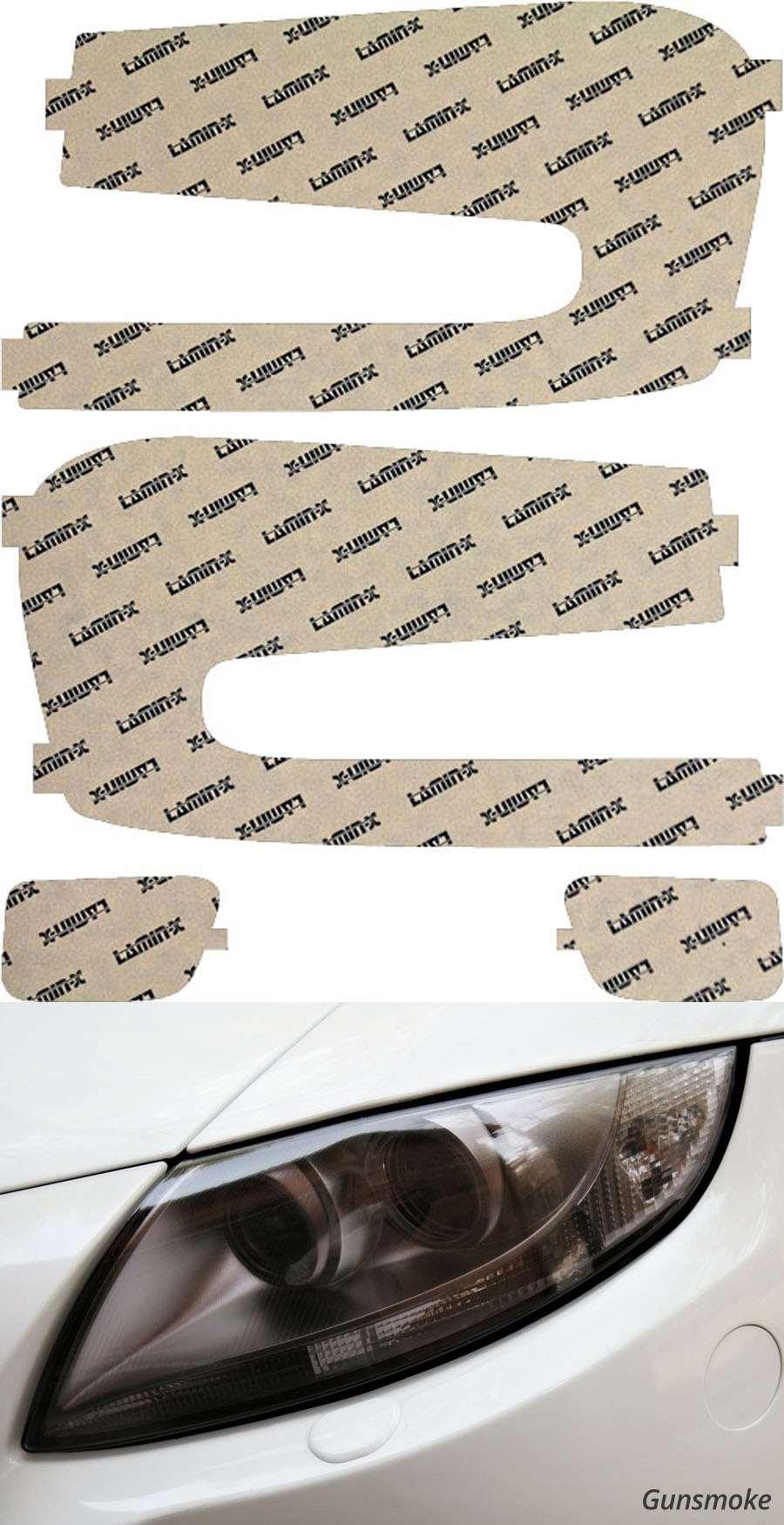 Chevrolet Trailblazer 02-06 Gunsmoke Headlight Covers Lamin-X CH007G