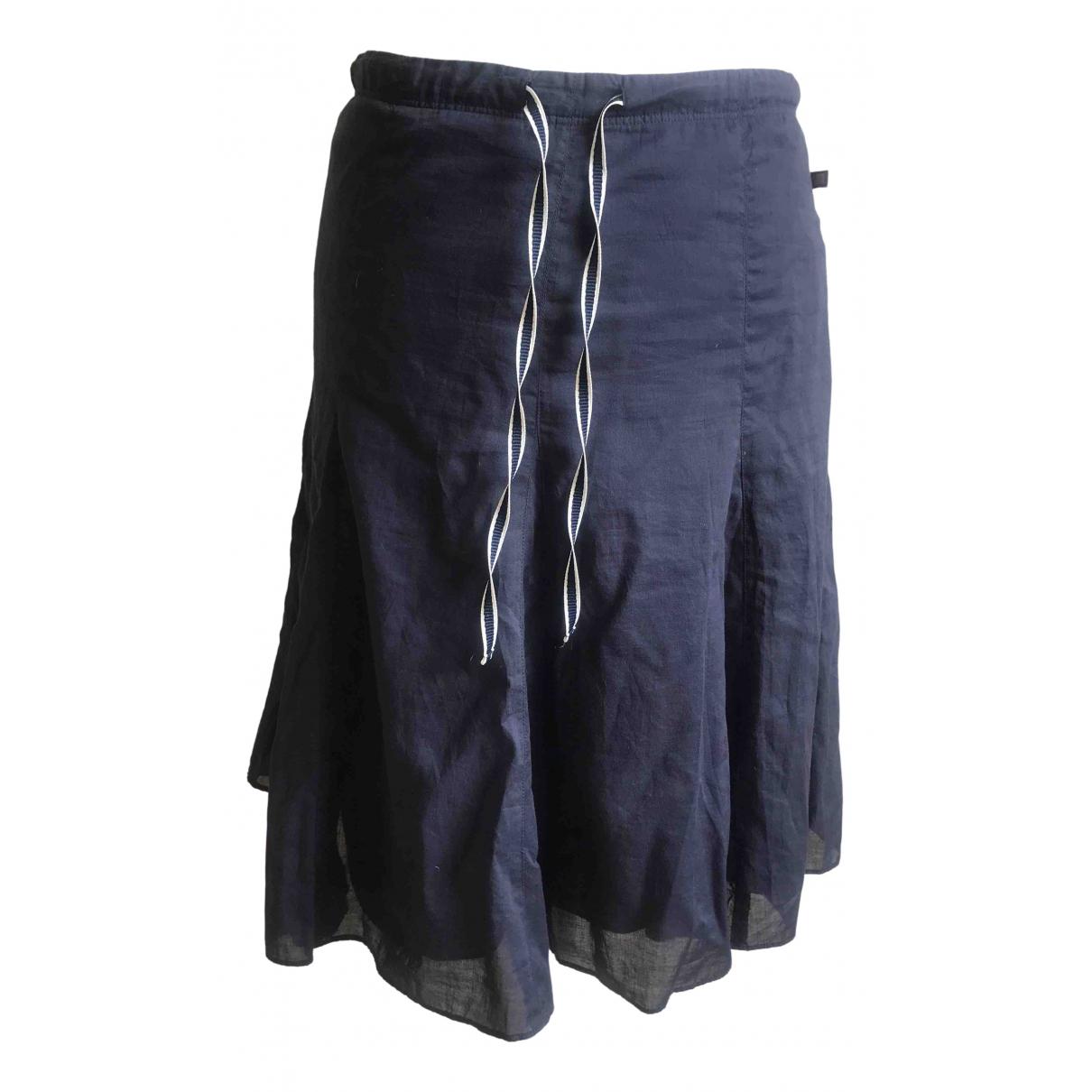 Polo Ralph Lauren - Jupe   pour femme en coton - bleu