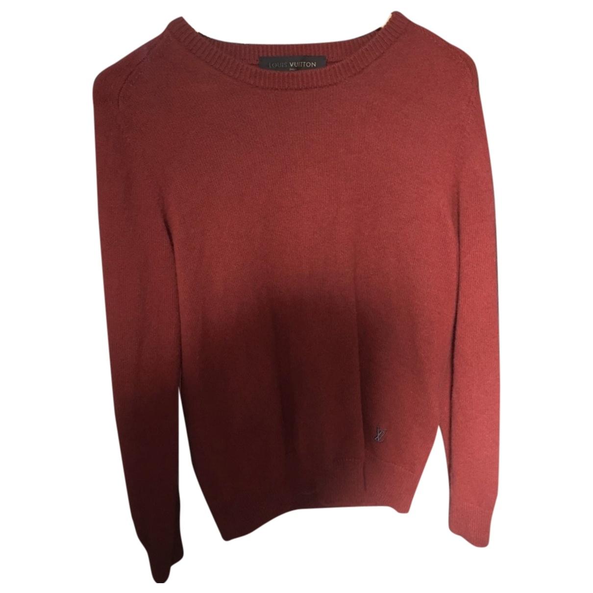 Louis Vuitton \N Burgundy Cashmere Knitwear & Sweatshirts for Men M International